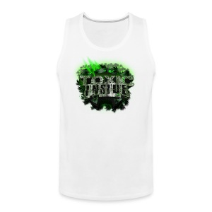 ToXic Inside Tanktop [White] [Add your own text] - Men's Premium Tank Top