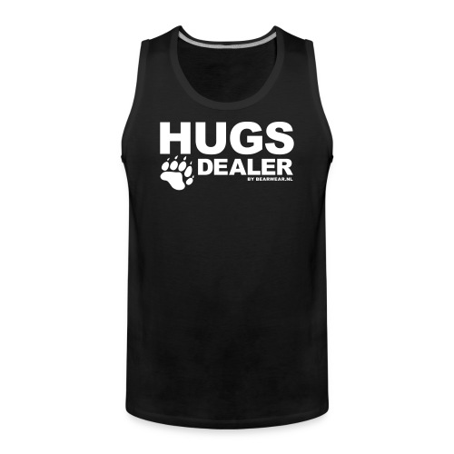 Hugs Dealer (tank) - Men's Premium Tank Top