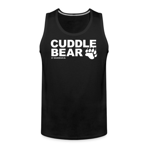 Cuddle Bear  (tank) - Men's Premium Tank Top