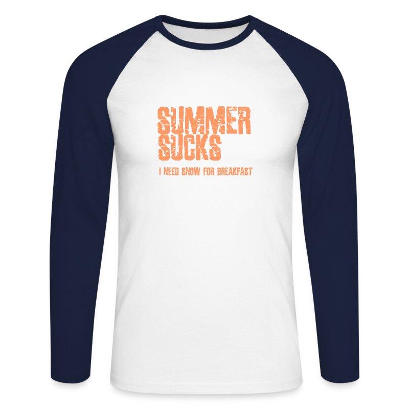 SUMMER2 - Mannen baseballshirt lange mouw