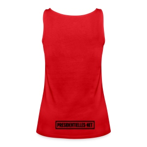 Le Débardeur Tilt rouge - Débardeur Premium Femme
