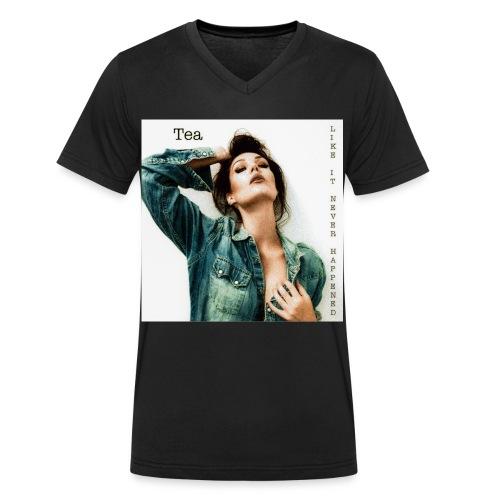 Skivomslag Tea - orginal - Ekologisk T-shirt med V-ringning herr från Stanley & Stella