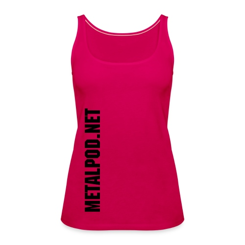 Pink n Black - Women's Premium Tank Top