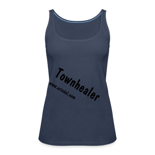 Townhealer girl 1 - Women's Premium Tank Top