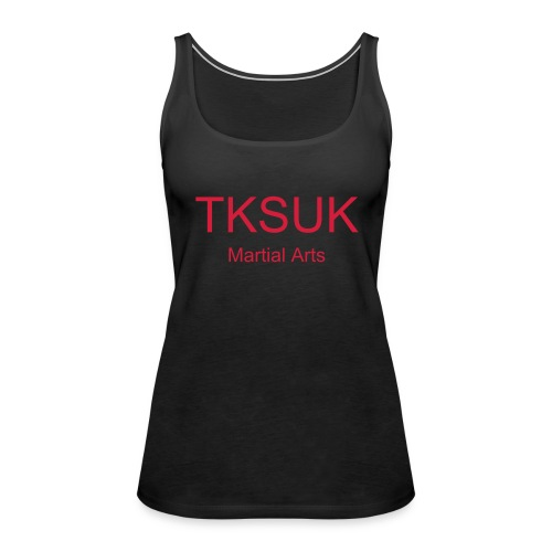 Black/Red Training Vest - Women's Premium Tank Top