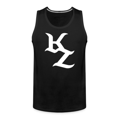 Schwarz-Weises KillZoN Tanktop - Men's Premium Tank Top