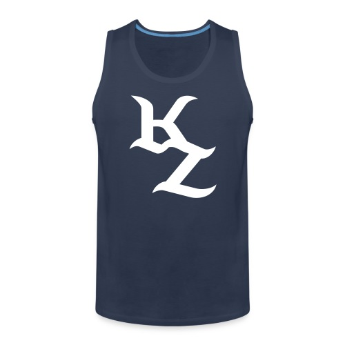 Blau-Weises KillZoN Tanktop - Men's Premium Tank Top