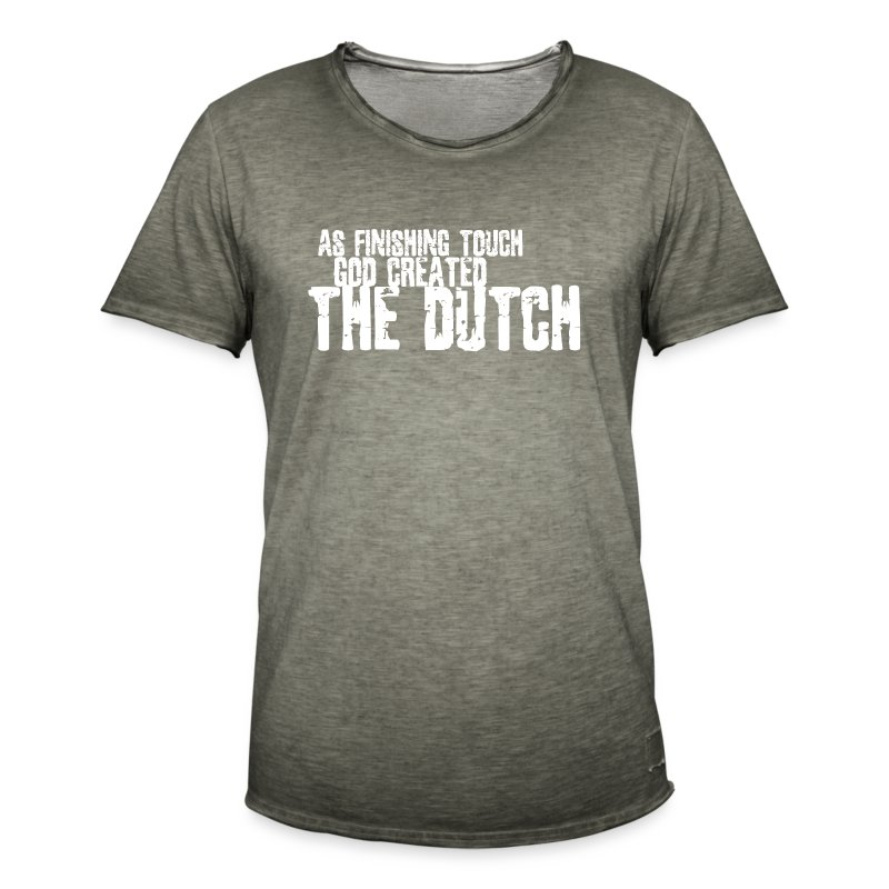 DUTCH4 - Mannen Vintage T-shirt