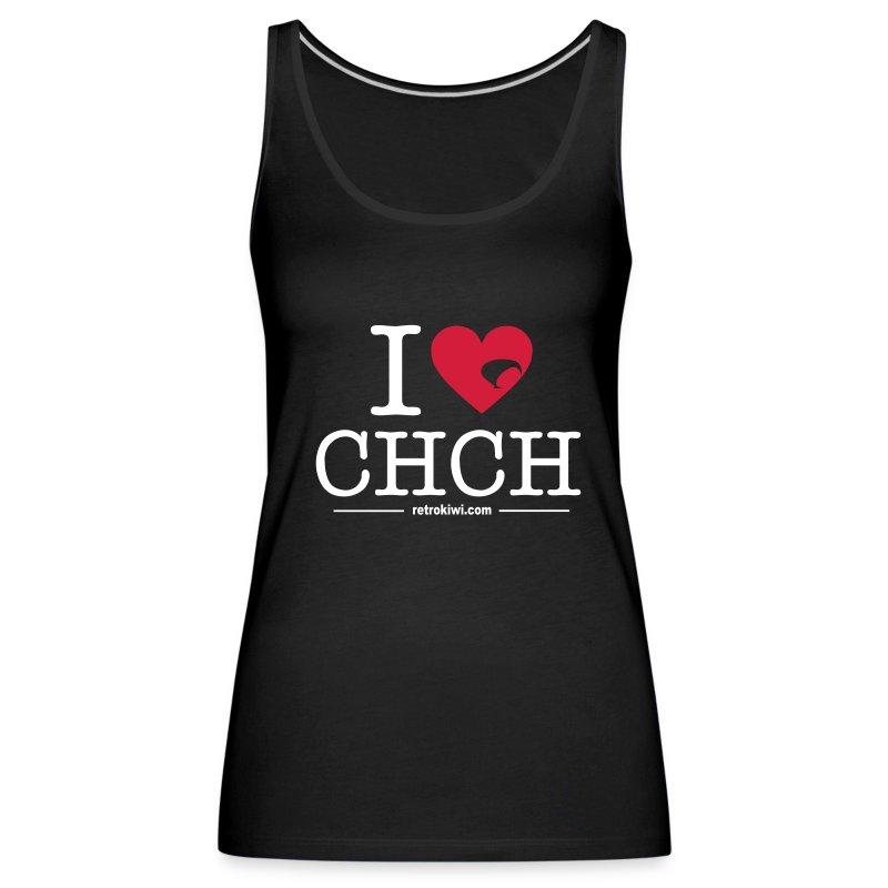 I Love CHCH - Women's Premium Tank Top