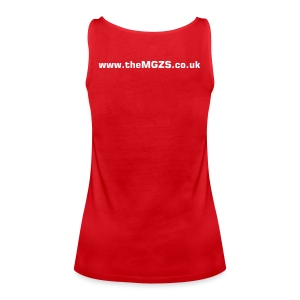 theMGZS.co.uk strappy top (red) - Women's Premium Tank Top