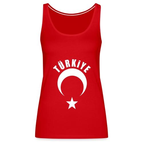 Türkiye Top Kırmızı - Frauen Premium Tank Top