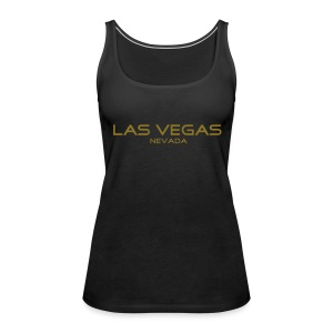 "Girlie Tank-Top ""LAS VEGAS, NEVADA"" schwarz - Frauen Premium Tank Top"