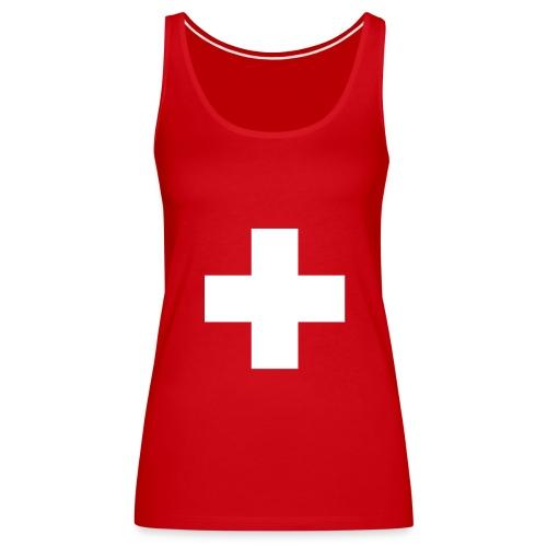 Für die modische Schweizer Frau - Frauen Premium Tank Top