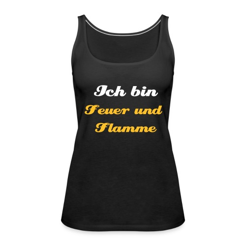female - brand mit stil - Frauen Premium Tank Top