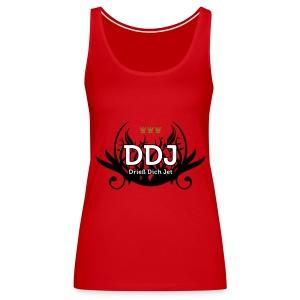 DDJ (Drieß Dich Jet) - Frauen Premium Tank Top