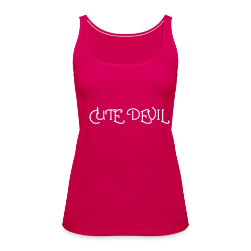 Cute Devil2 - Women's Premium Tank Top