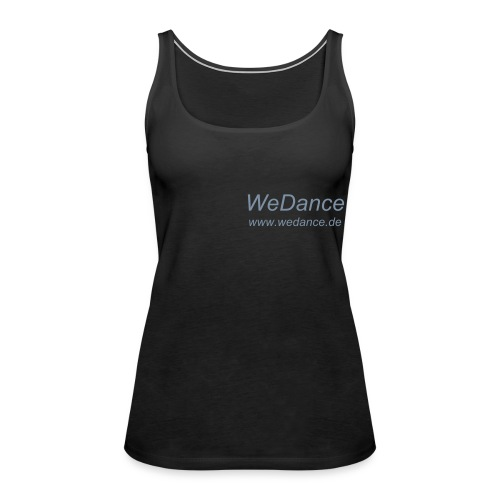 WeDance Frauen Schulterfreies Tank Top - Frauen Premium Tank Top