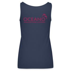 OCEANO Spaghetti himmelblau - Frauen Premium Tank Top