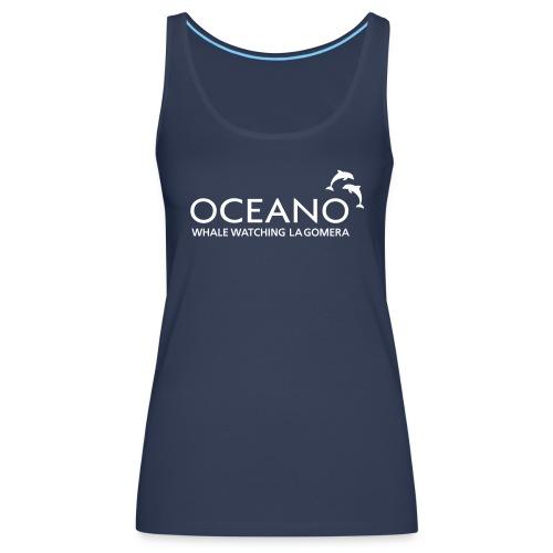 OCEANO Tank Top Petrol - Frauen Premium Tank Top