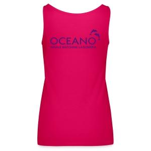 OCEANO Spaghetti pink-lila - Frauen Premium Tank Top