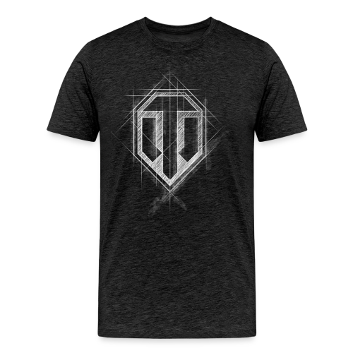 World of Tanks Men T-Shirt Gamescom Logo - Men's Premium T-Shirt