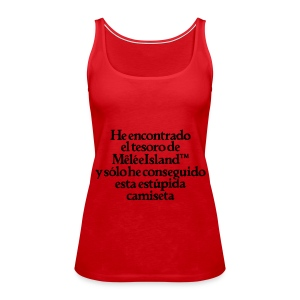 Monkey Island (Tesoro Melee Island) - Camiseta de tirantes premium mujer