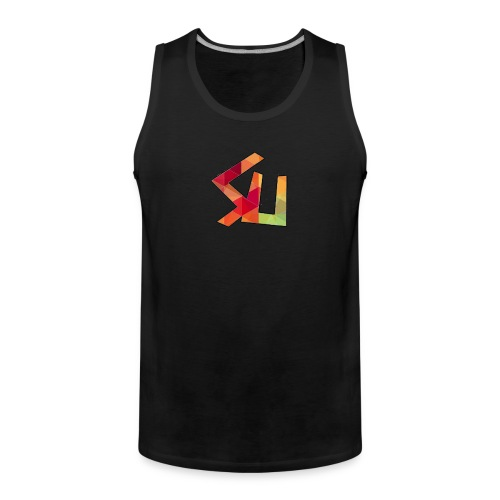 SainT Tank top with name and number - Men's Premium Tank Top