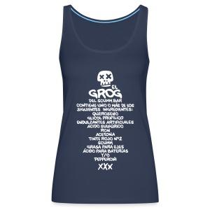 Monkey Island: Receta Grog - Camiseta de tirantes premium mujer