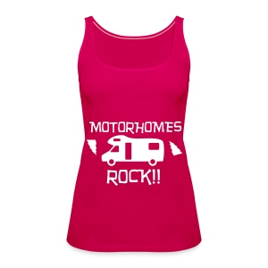 Motorhomes Rock - Women's Premium Tank Top