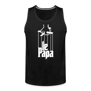 Le Paparrain - Men's Premium Tank Top