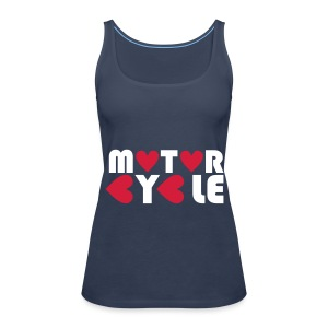 Motorcycle - Women's Premium Tank Top