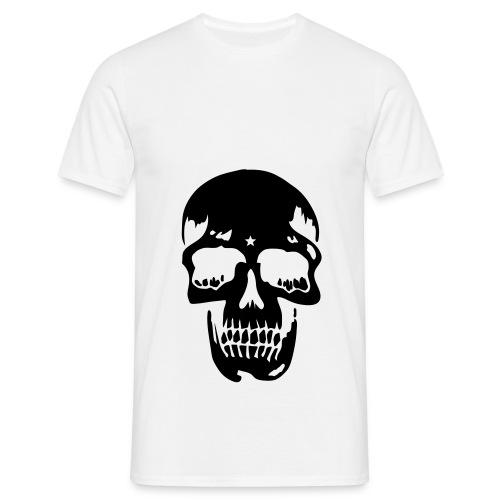 Skull t-shirt - T-shirt herr