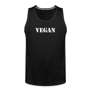 Vegan men Shirt - Men's Premium Tank Top