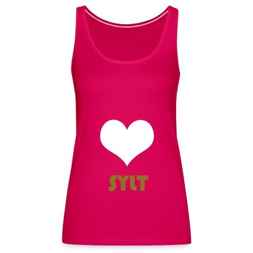 I Love Sylt - Frauen Premium Tank Top