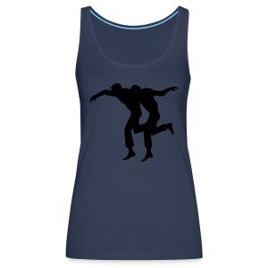 Syrtaki dancers - Women's Premium Tank Top
