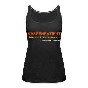 bilingual hospital shirt - Women's Premium Tank Top