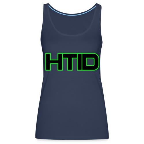 HTID - Women's Dark Shoulder Free Tank Top - Women's Premium Tank Top