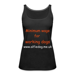 Minimum wage - Women's Premium Tank Top