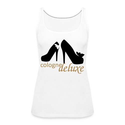 K-D Schulterfreies Tank Top Woman - Frauen Premium Tank Top
