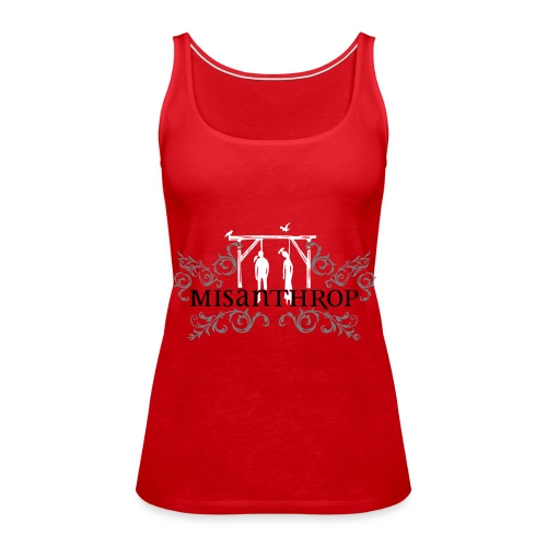 neues Logo - Spaghetti Top - rot - Frauen Premium Tank Top