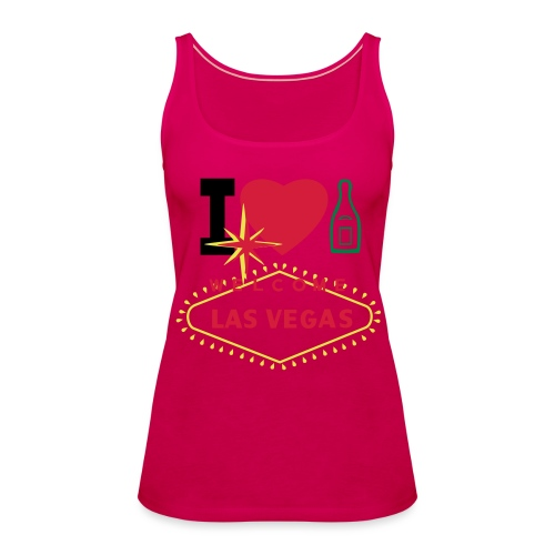 I LOVE CHAMPAGNE - Women's Premium Tank Top