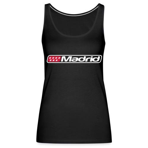 Madrid Top - Camiseta de tirantes premium mujer