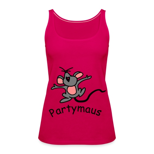 Partymaus - Frauen Premium Tank Top