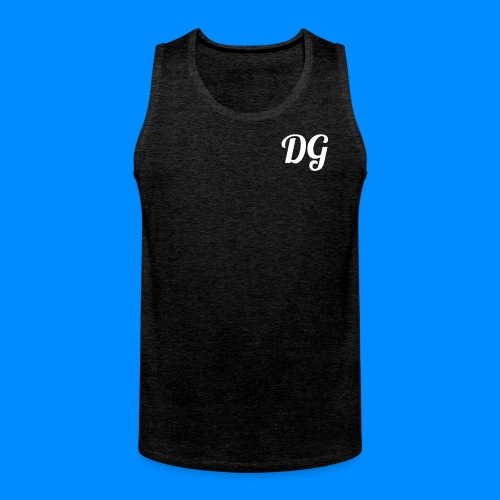 Official Dylan Gilbert Tank Top (Dark Grey) - Men's Premium Tank Top