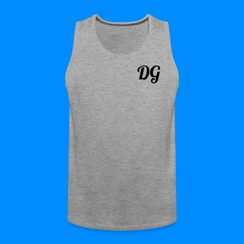 Official Dylan Gilbert Tank Top (Grey) - Men's Premium Tank Top