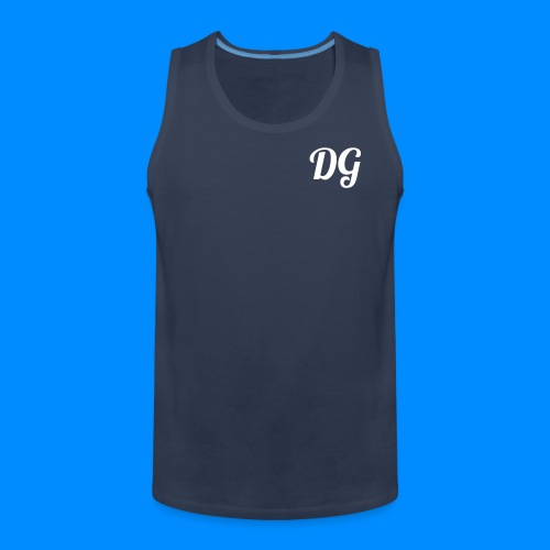 Official Dylan Gilbert Tank Top (Navy) - Men's Premium Tank Top