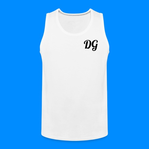 Official Dylan Gilbert Tank Top (White) - Men's Premium Tank Top