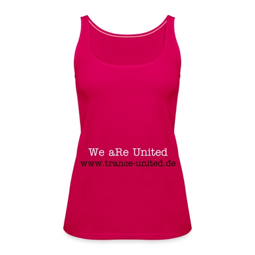 We aRe United - Frauen Premium Tank Top