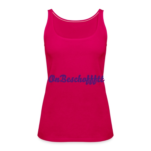 what a crazy day - Vrouwen Premium tank top