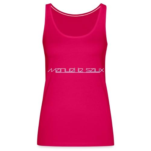 MLS Girlie Sexy Top White Logo - Women's Premium Tank Top